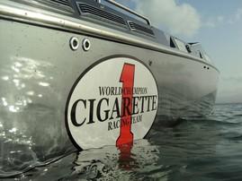 Offshore cigarette top gun 38 St-Barthélémy