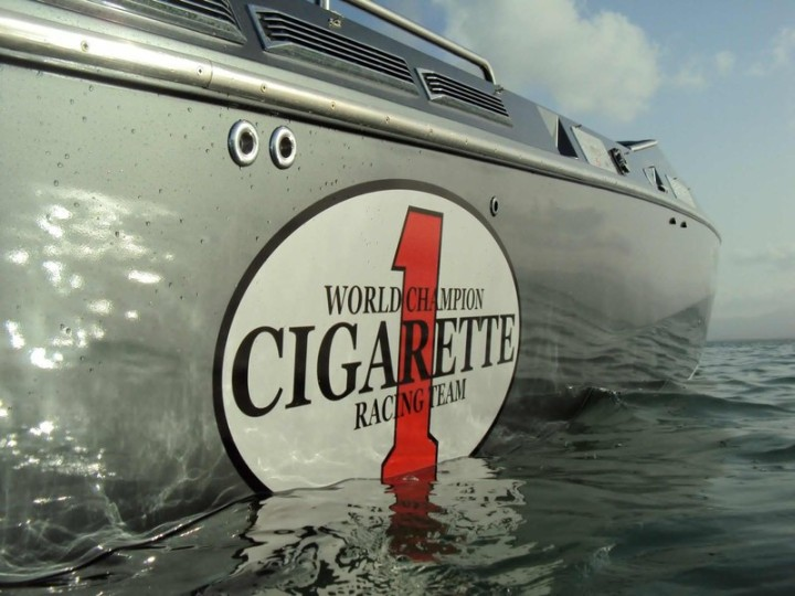 Offshore Cigarette Top Gun 38 Guadeloupe