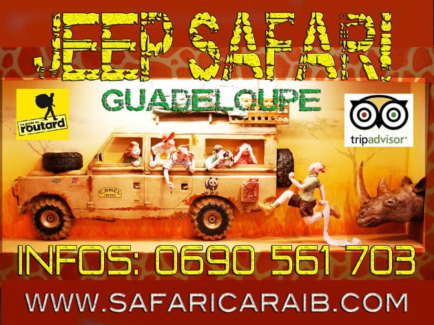 Jeep Safari Excursion Guadeloupe 4X4 Reservation Clic sur Image pour Reserver votre Excursion.